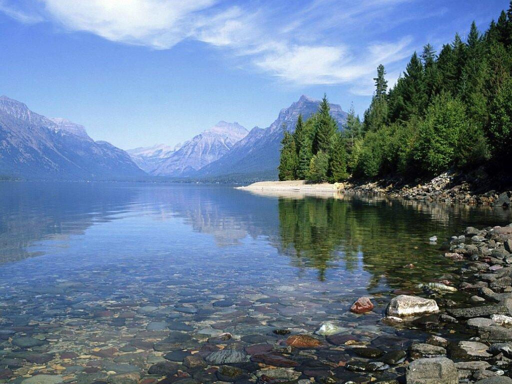 Чистое озеро в горах - обои рабочего столаЧистое озеро в горах 182,2 Kb Тип обоев для рабочих столов ПК  - JPG Качеcтво изображения 1024x768