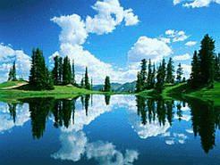 Фотообои для рабочего стола  Название фонового рисунка: Спокойное озеро